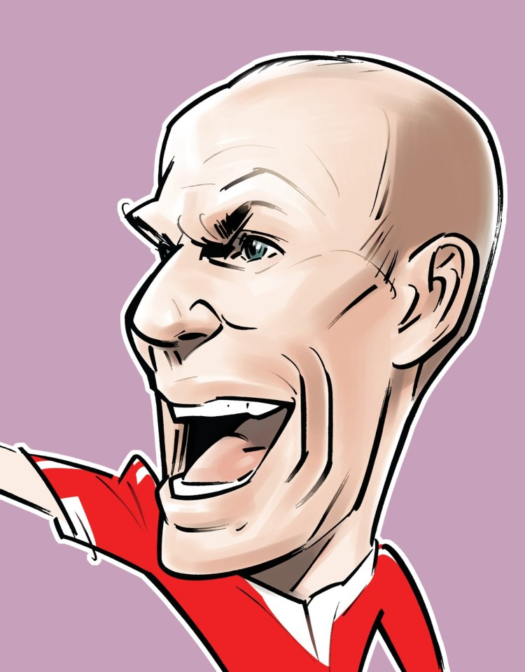Robben caricature 1