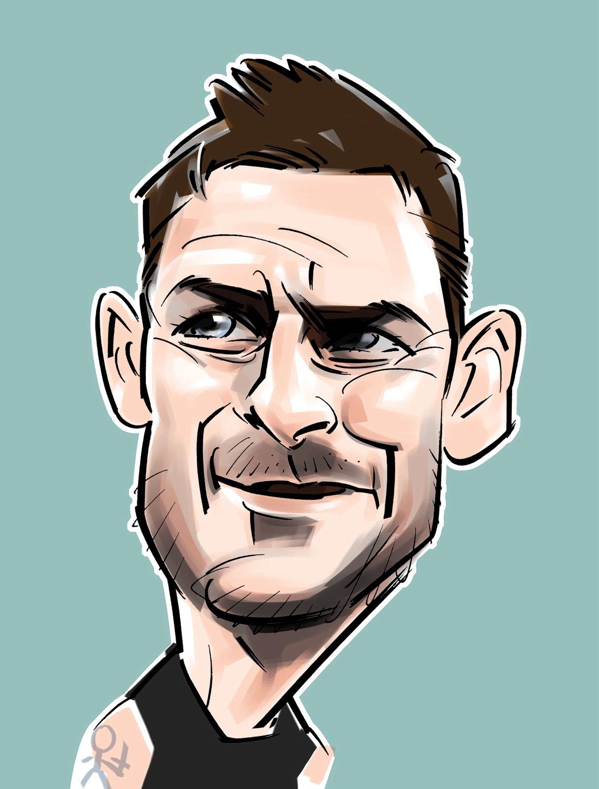Gambar Karikatur Pemain Bola Dunia Duinia Kartun