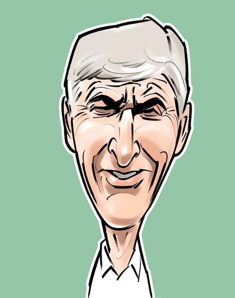 Wenger caricature 1